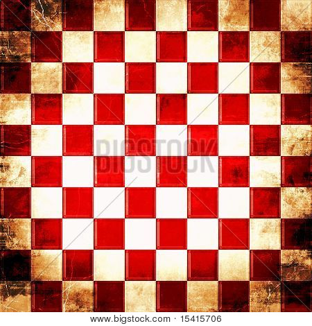 XL Checkered Grunge