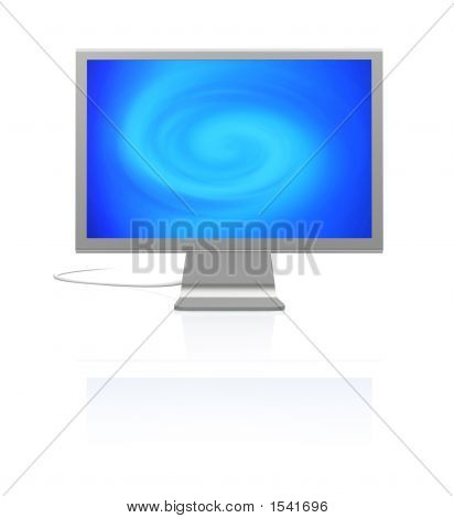 Screen With Twirl