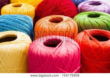 Knitting Crochet Hobby Handiwork Leisure Handmade Concept