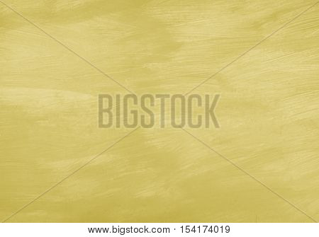 The Old Wallpaper Of Wooden Board With Yellow Color Paint