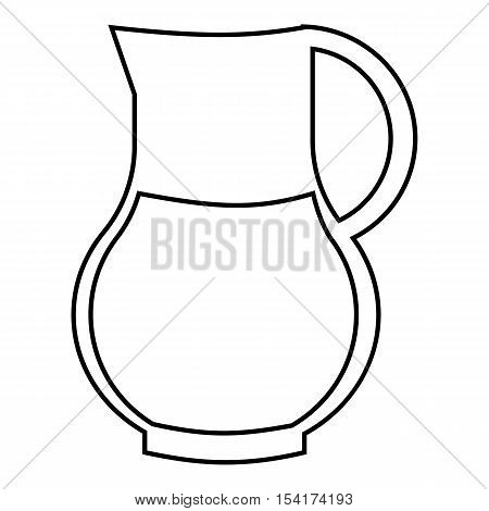 Drink sangria icon. Outline illustration of drink sangria vector icon for web