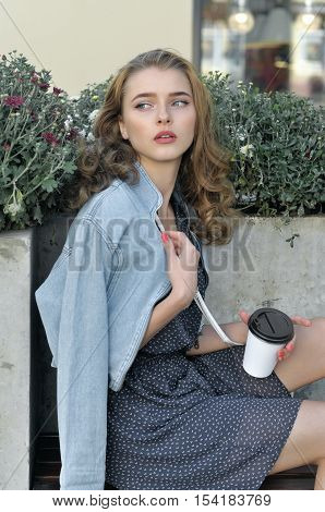 Woman Already Drank Coffee