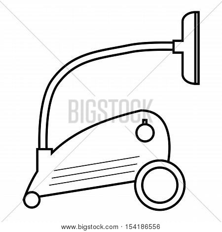 Vacuum cleaner icon. Outline illustration of vacuum cleaner vector icon for web