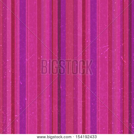 Vertical Pink Stripes Pattern, Seamless Texture Background. Ideal For Printing Onto Fabric And Paper