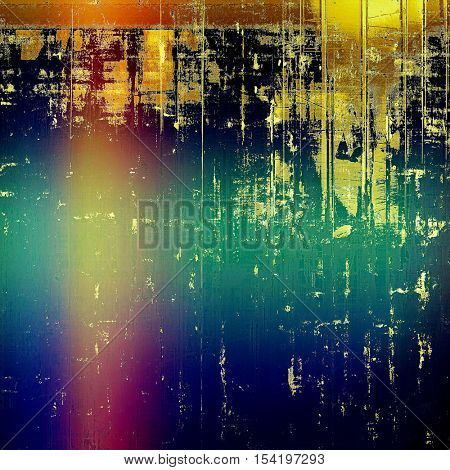 Hi res grunge texture or retro background. With different color patterns: yellow (beige); brown; green; blue; red (orange); purple (violet)