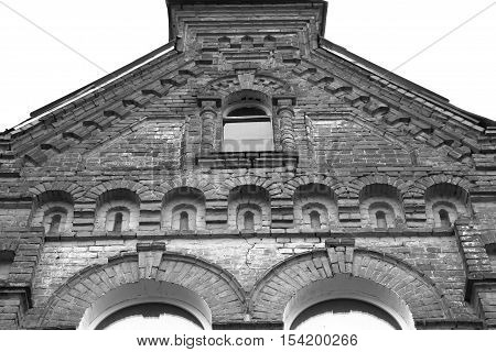 Architectural Structures And Elements Of Buildings In The City