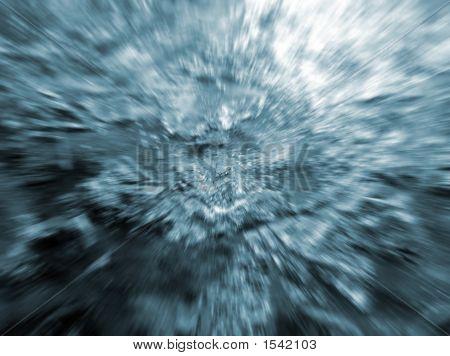 Bluish Vortex Looking Grunge Type Background