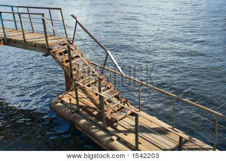 Rusty Metal Ladder
