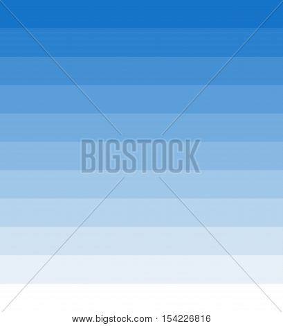 Transition of light blue and blue stripes