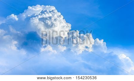 sky with clouds, cloud scape - stock photo