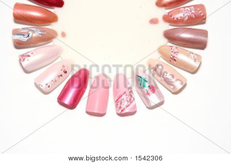 Figures On Nails