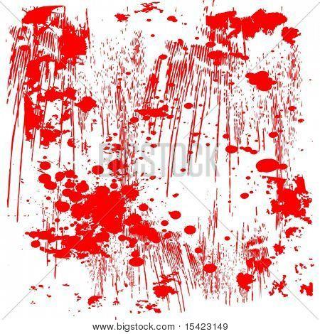 Vector Red Splatter Grunge