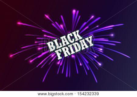 Black Friday. Fireworks Discounts.