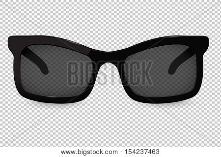 Sunglasses. Vector illustration isolated on transparent background