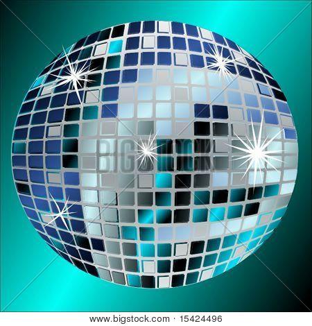 Vector Disco Mirrorball