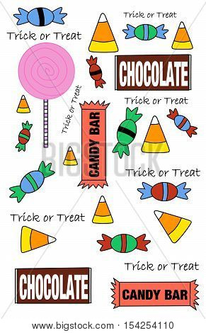 Cute Halloween Candy Explosion for anyone with a sweet tooth