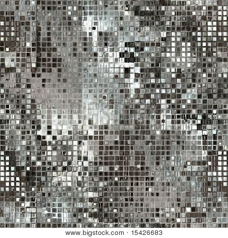 Silver Sequins Seamless Background
