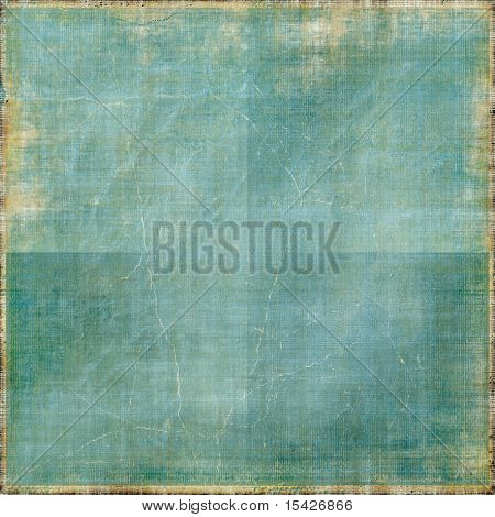 Vintage Creased Paper Background