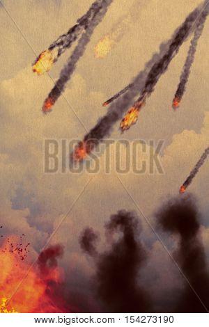 Fireballs In The Sky