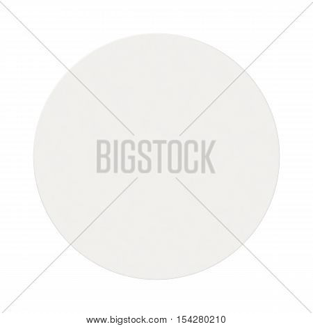 White Coaster