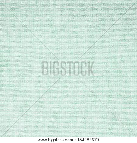 Turquoise knitwear fabric texture. Fashion fabric texture background