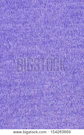 Violet knitwear fabric texture. Fashion fabric texture background