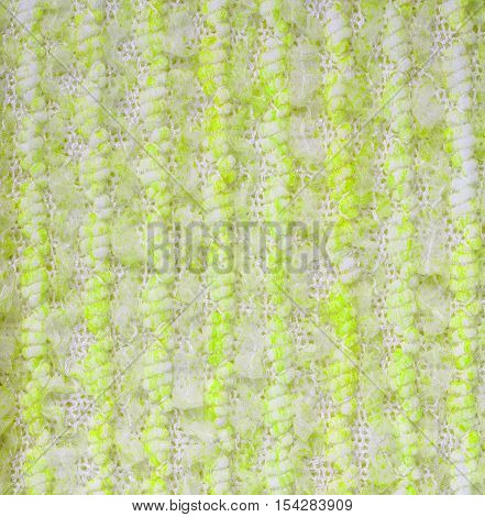 Yellow knitwear fabric  texture cloth background closeup