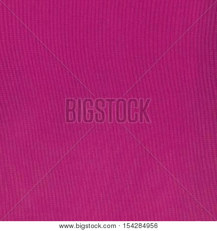 Magenta fabric texture background square close up