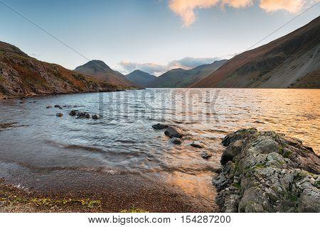 Wast Water In Cumbria