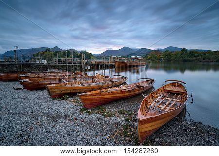 Boats At Keswick