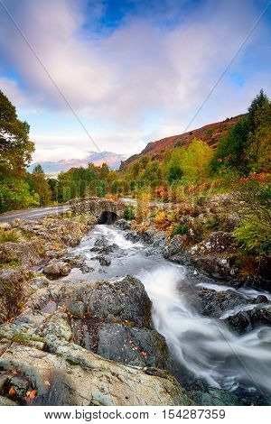 Ashness Bridge In Cumbria