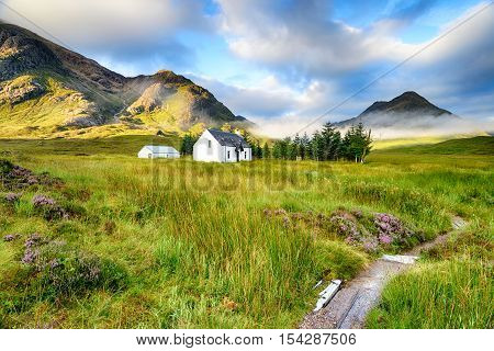 Remote Mountain Cottage At Glencoe