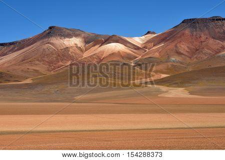 Atacama Desert landscape in Bolivia, South America