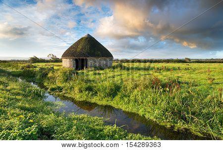 Braunton Marshes In Devon