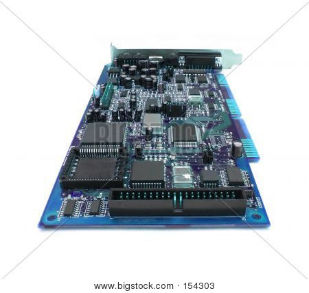 Blue Computer Board