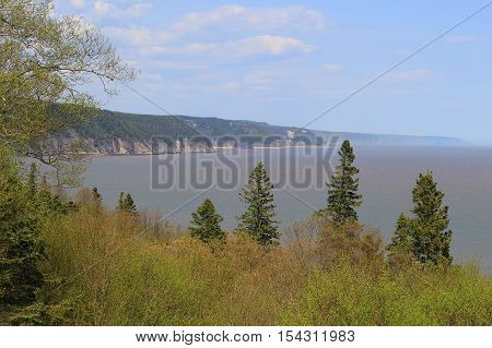 Unspoiled Coast On The Fundy Trail Parkway
