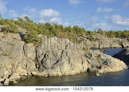 Nynäshamn Archipelago. Nynäshamn is located far south in Södertörn, 58 kilometers south of Stockholm.