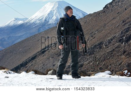 Travel Photographer Hike The Tongariro Crossing