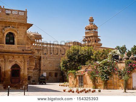 Beautiful Mandir Palace in Jaisalmer Rajasthan India