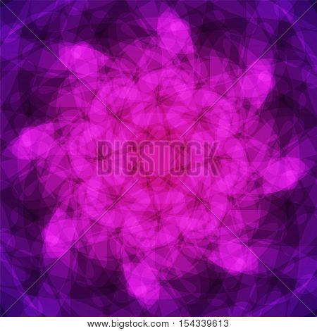 abstract vector spotted background - purple and violet