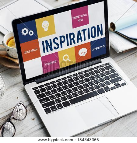 Fresh Ideas Creative Thinking Concept