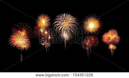 Happy New Year Celebration Fireworks
