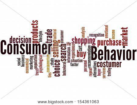 Consumer Behavior, Word Cloud Concept 6