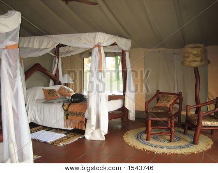 Luxus In einem Tented Safari Camp