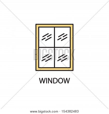 Window Line Icon.