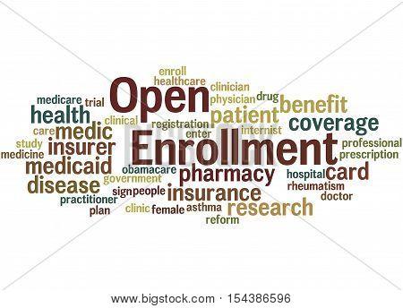 Open Enrollment, Word Cloud Concept 2