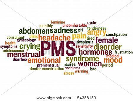 Pms, Word Cloud Concept 6