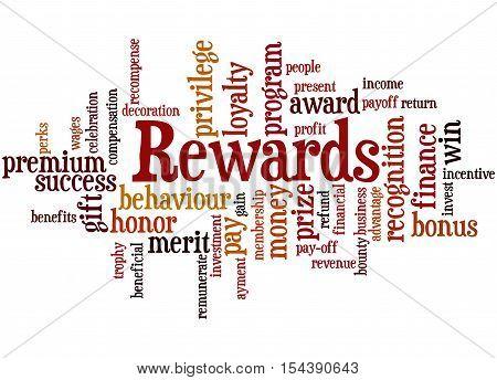 Rewards, Word Cloud Concept 8