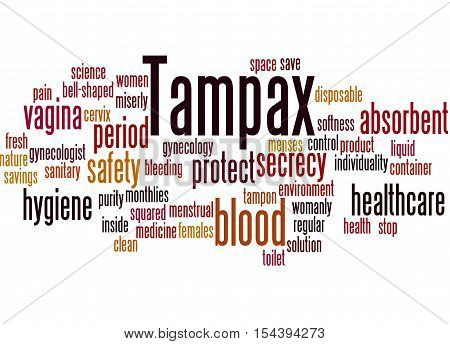 Tampax, Word Cloud Concept 7
