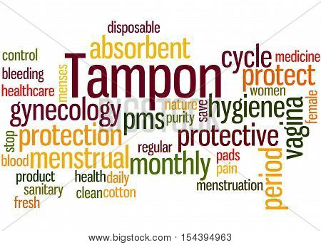 Tampon, Word Cloud Concept 3